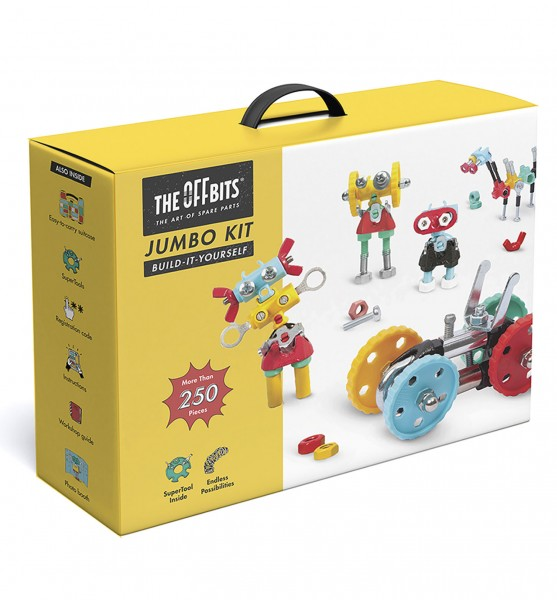 Jumbo Kit, suitcase pack more than 250 parts