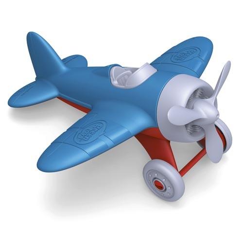 Flugzeug, blau / Airplane, blue