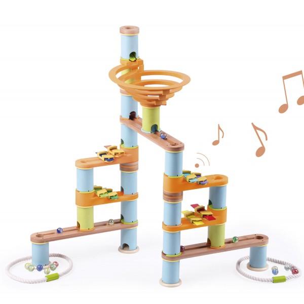 Kugelbahn: Bamboo Build & Run (98 pcs) MUSICAL