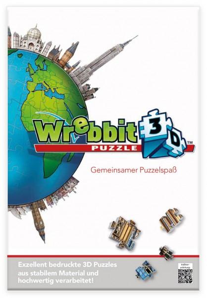 Kundenflyer Wrebbit Puzzle mit Stempelfeld / Customer Flyer Wrebbit Puzzle