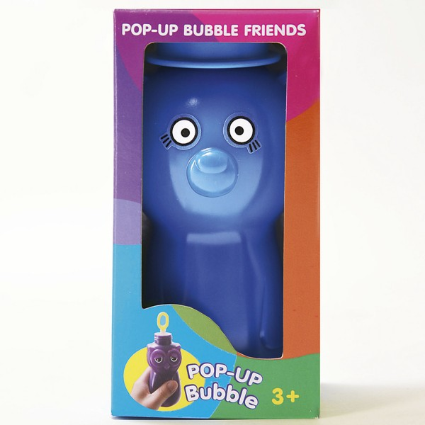 Pop-up Bubble Friends - Bär / Seifenblasen - Bear