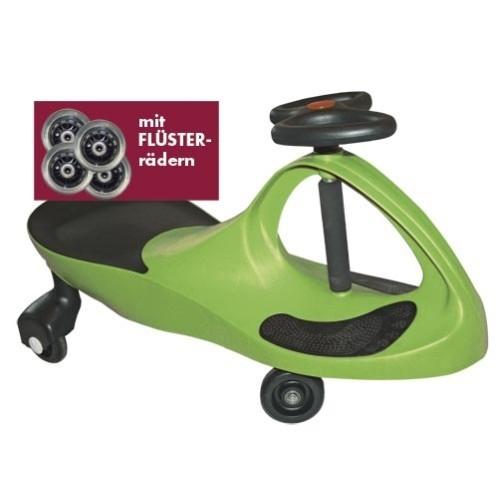 Kids-CAR - apfelgrün - mit Flüsterrädern