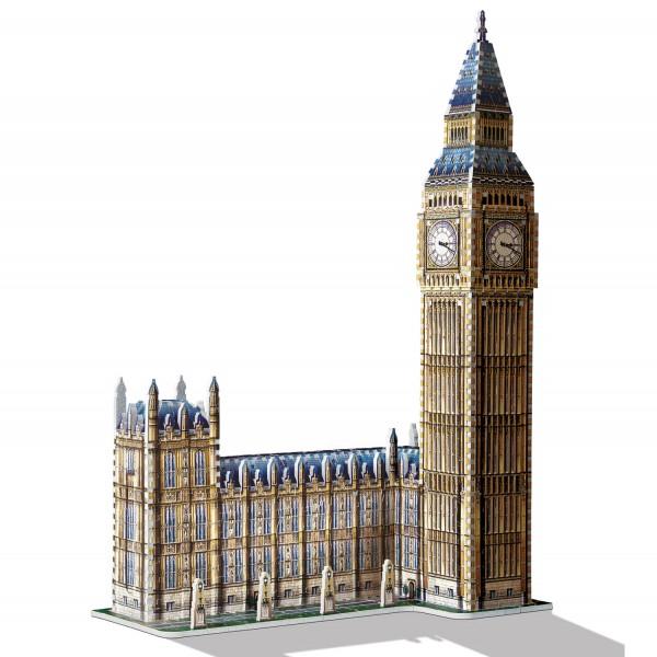 Big Ben & House of Parliament - Queen Elisabeth Tower / 3D-Puzzle