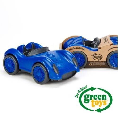 Rennwagen, blau / Race Car, blue