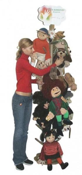 Puppet Display Floor - Wood