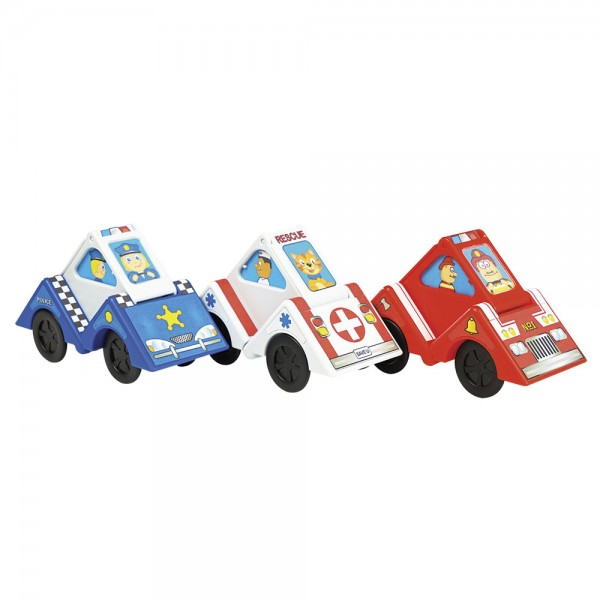 Vroom Blox - Verwandelbares Baustein-Spielauto / Toyblocks into cars
