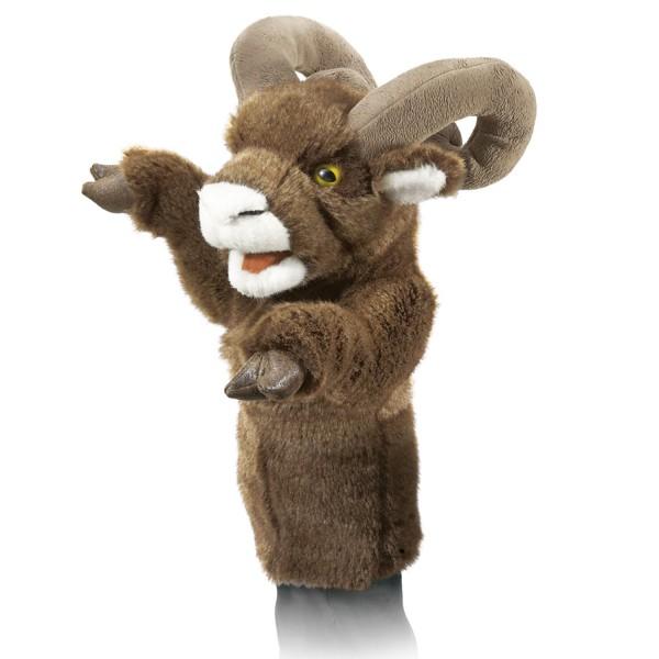 Dickhornschaf für die Puppenbühne / Bighorn Sheep Stage Puppet