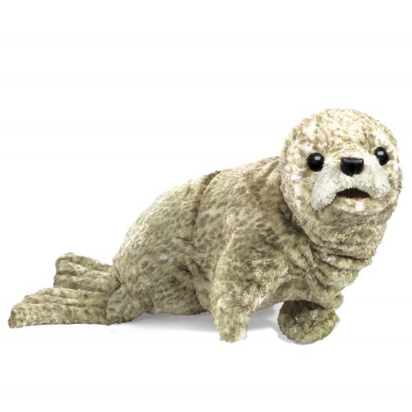 Seerobbenbaby, silber / Harbour Seal