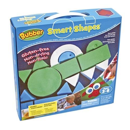 Smart Shapes - Formenset mit 4 Farben Bubber / 4 colors shape set for bubber