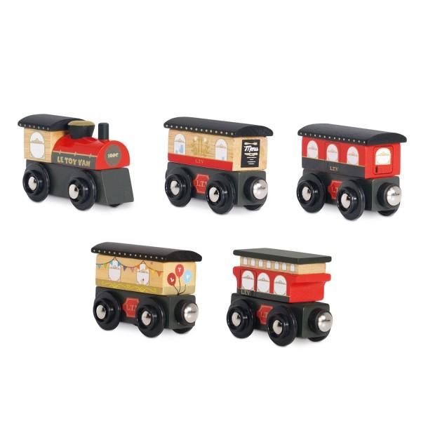 Royal Express Train - red