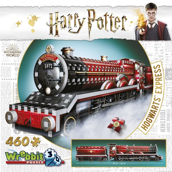 Hogwarts Express Harry Potter (460 Teile) / Hogwarts Express Train - 3D-Puzzle