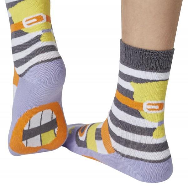 Räubermädchen Break Sockenpuppe SPÜRNASEN Größe 23-26 (3-4 J.)