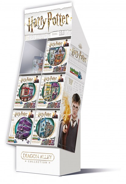 FLOOR DISPLAY DIAGON ALLEY COLLECTION