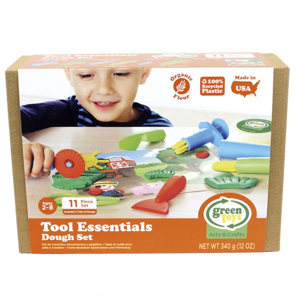 Öko-Knete + Knetwerkzeug Set / Tool Essentials Dough Set