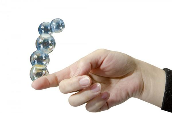 Touchable Bubbles/Seifenblasen zum Anfassen