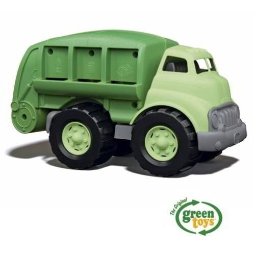 Müllauto, grün / Recycle truck, green