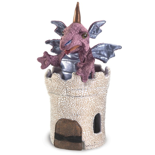 Drache im Turm / Dragon in Turret
