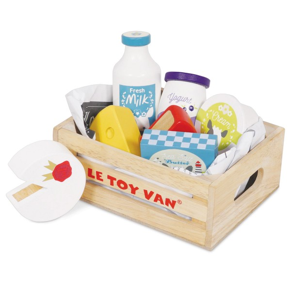 Käse & Milch Marktkiste / Cheese & Dairy Market Crate