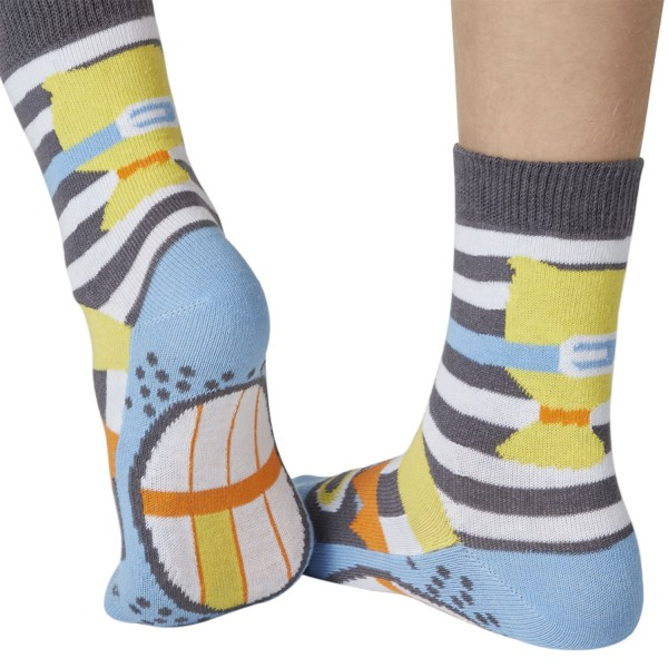 Räuber Catch me Sockenpuppe SPÜRNASEN Größe 23-26-(3-4 J.)