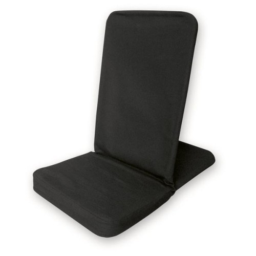 Bodenstuhl faltbar - schwarz / Folding Backjack - black