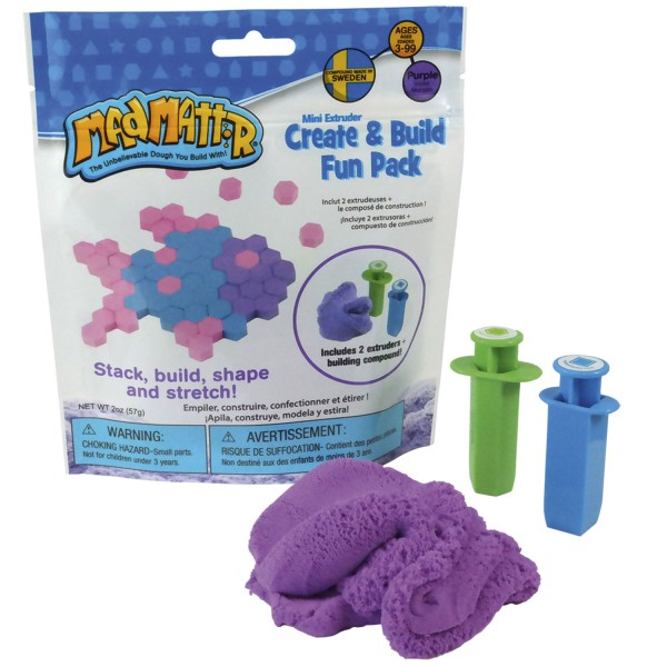 Mad Mattr Create & Build Fun Pack - lila / purple