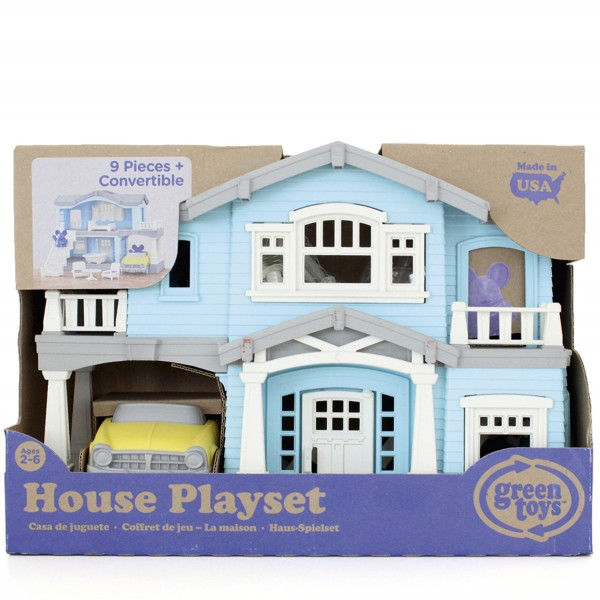 Haus Spielset blau / House Playset blue