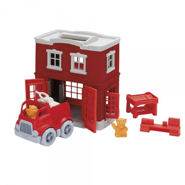 Feuerwache Spielset / Fire Station Playset