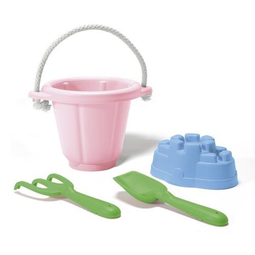 Sandspiel-Set 4-teilig, pink / Sand play set, pink