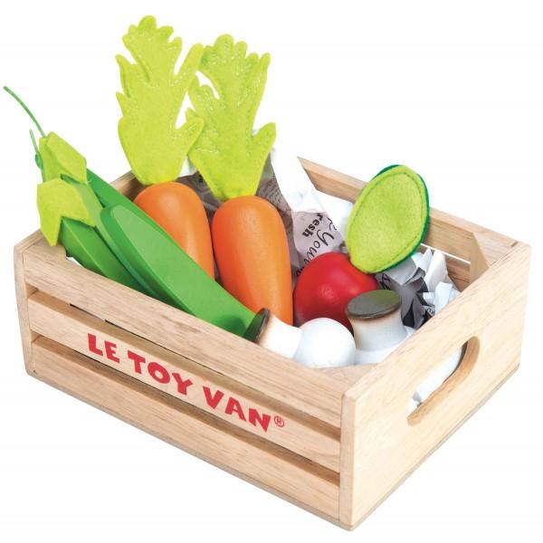 "Gemüse Marktkiste / Vegetables ""5-A-Day"""