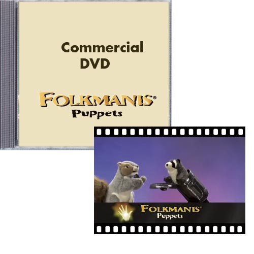 Promotion DVD: Folkmanis-Puppets