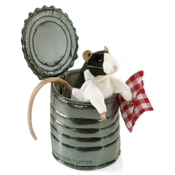 Ratte in der Dose / Rat in Tin Can