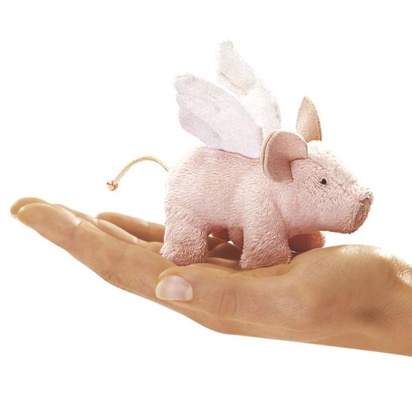 Mini Schwein mit Flügeln / Mini Winged Piglet
