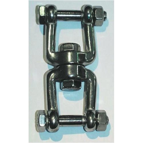 Drehgelenk aus Nirosta-Stahl für Sky-Chair bis 120 kg belastbar