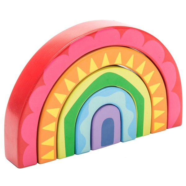 Regenbogen Tunnel Spielzeug / Rainbow Tunnel Toy