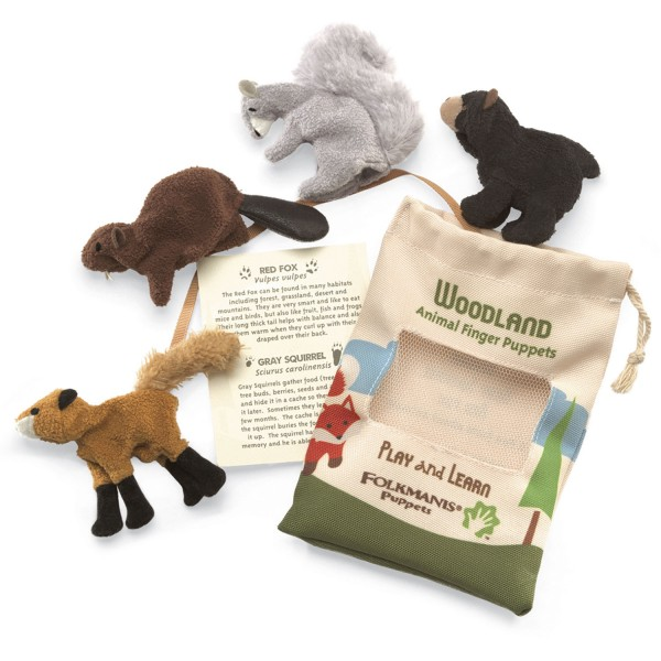 Spielset Waldtiere / Woodland Animal Set