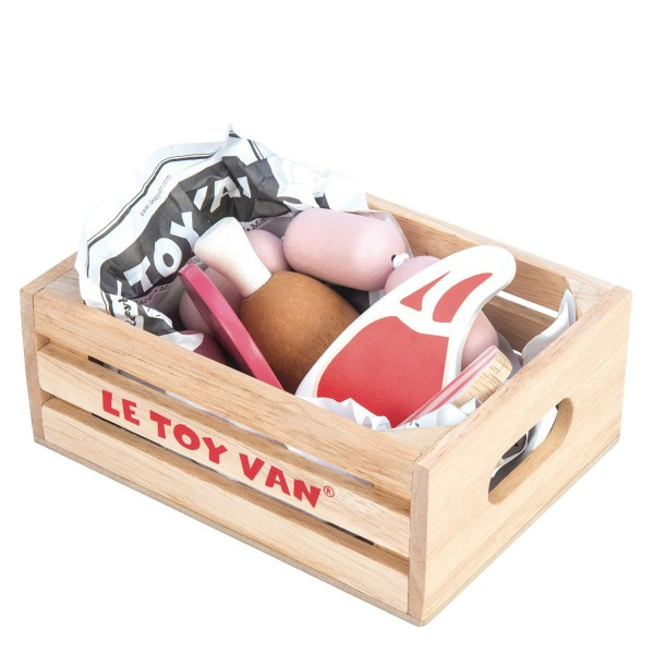 Fleischwaren Marktkiste / Market Meat Crate
