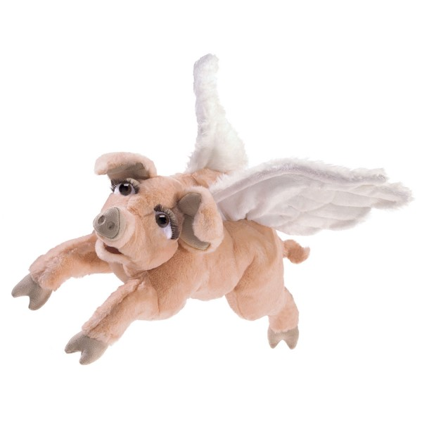 Schwein mit Flügeln / Flying Pig