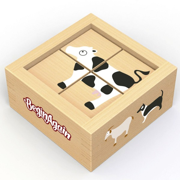 Würfelpuzzle Farm - Buddy Blocks Farm