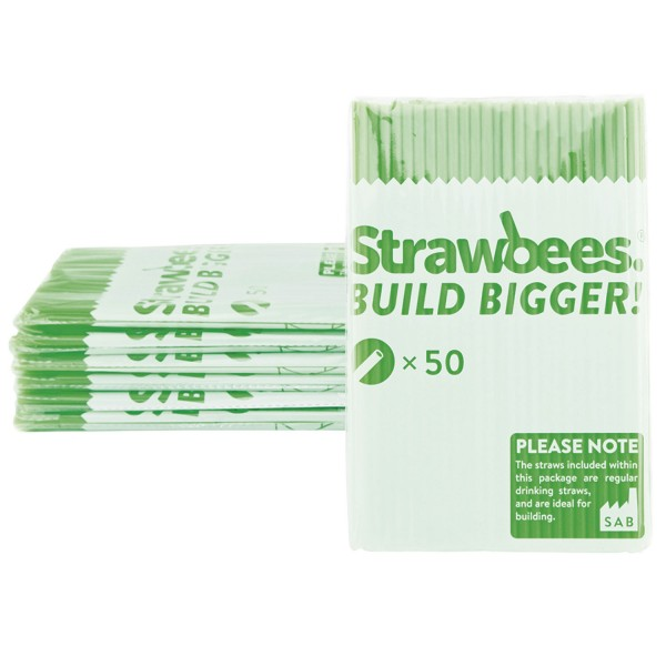 Straws green/Strohhalme grün 50 pcs.
