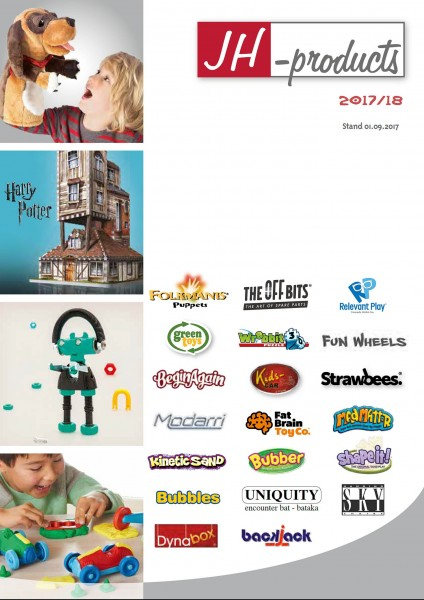 Folkmanis / JH-products Catalogue for Retailers